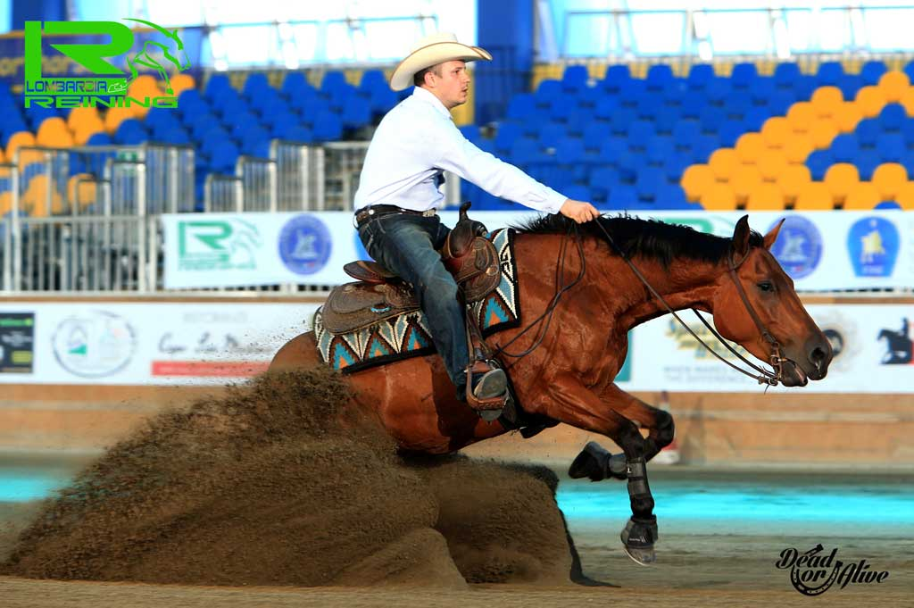 VARINI RICCARDO sul suo SATURDAYNIGHT SLIDE con score 137,5 GREEN LEVEL Italian Champion