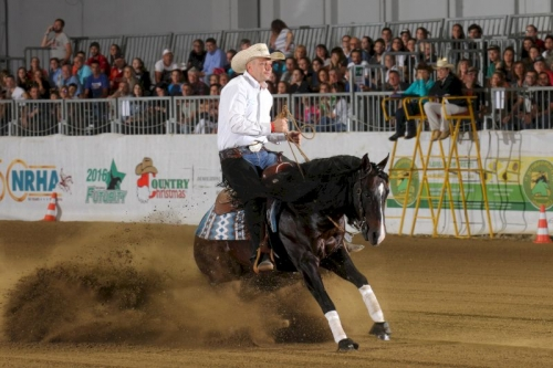 Pre Futurity 2019 - RUDI KRONSTEINER & AB PEPPY DIAMOND score 150