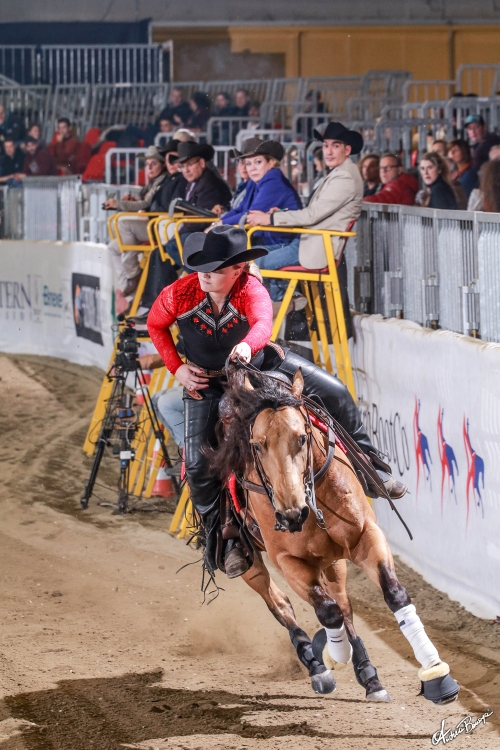 Futurity 2019 - SHARON DE GROOT & TINSEL WHIZINGTON score 210