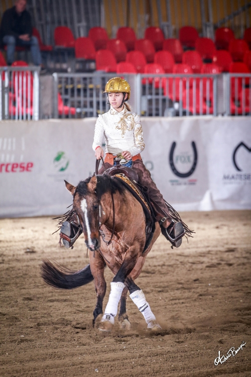 Futurity 2019 - VALERIE ZOZIN & SH MAGIC PESETA score 139,5