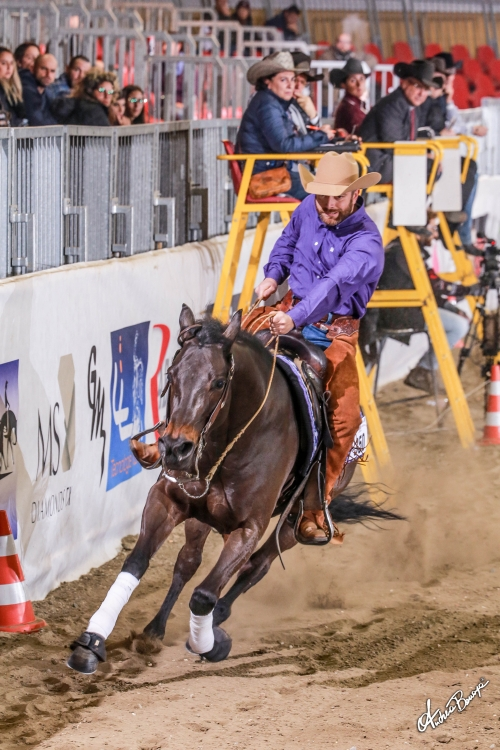 Futurity 2019 - ALBERTO FERRARA & LITTLE BINGO PLAYER score 212