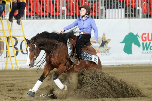 Futurity 2018 - WIKTORIA STANCO & REMY ROOSTER SG owner WIKTORIA STANCO score 213,5