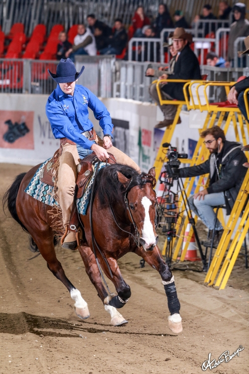 Futurity 2019 - MATTEO CAPELLO & RS ANTARES BLUE score 139