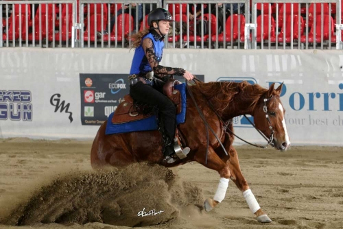 Futurity 2018 - LISA WERDANER & PL SPECIAL SURPRISE owner LISA WERDANER score 216,5