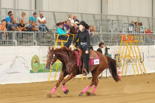 Pre Futurity 2019 - NICOLE CERANTOLA & THE HICKONA score 66