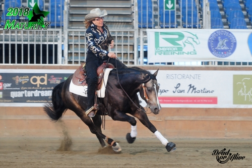 Maturity 2018 - KARIN STOLL su HH RICO AND SPARKY di FRITZ STOLL con score run off 135,5