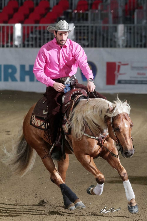 Futurity 2018 - MANUEL CORTESI & PC TINSEL WHIZ owner AZ. AGR. CORTESI PIERO score 439,5