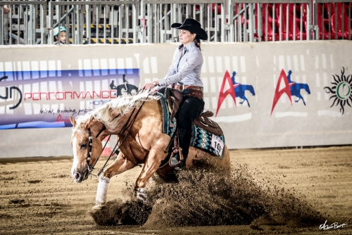 Futurity 2019 - CLEMENCE NEVEUX & SPARKIN STEP score 219