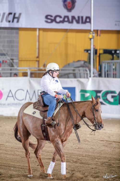 Futurity 2019 - GIORGIA SUSANI & DUN LITTLE PRINCESS score 142