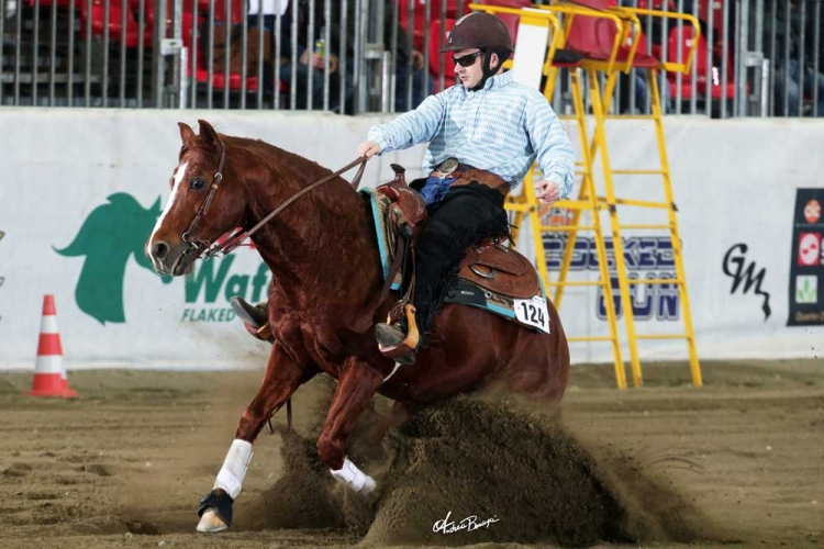 Futurity 2018 - PAOLO PETTENA & ENERGY FOR ME owner PAOLO PETTENA score 144