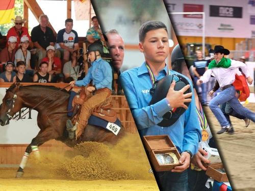 The reining community mourns the loss of Matteo Bonzano