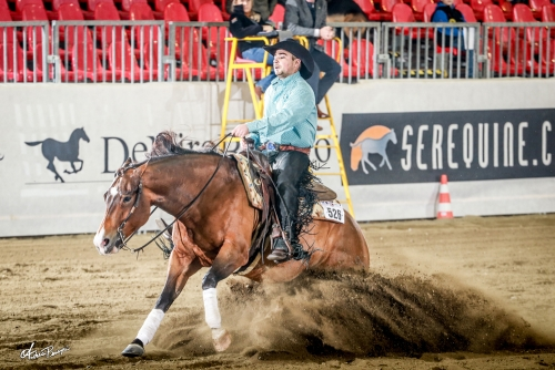 Futurity 2019 - MARKUS GEBERT & HARRY GOTTA WHIZ score 218,5