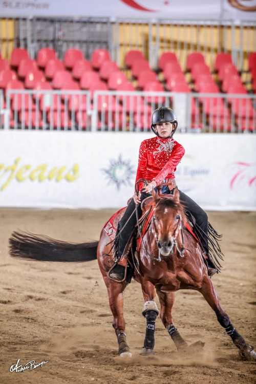 Futurity 2019 - REBECCA PADRINI & CONQUISTADOR MONEY score 143