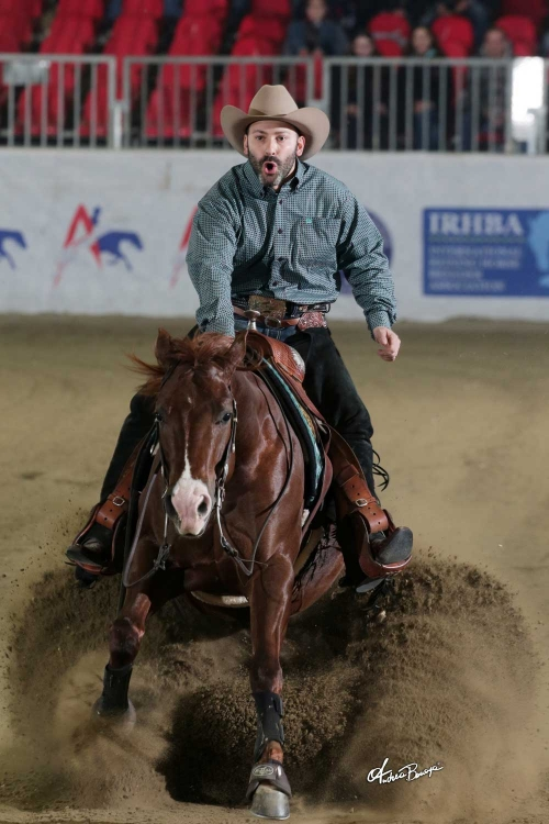 Futurity 2018 - MORENO SACCHI & SPATSPOOK AND SAILOR owner MATTEO DAVID score 217,5